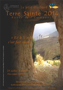 Tract Terre Sainte 2014 Emmanuel BD