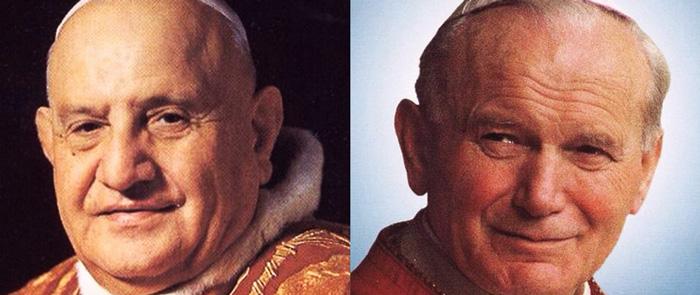 Canonisation de Jean-Paul II et Jean XXIII