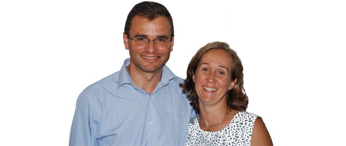 Olivier et Xristillia Roussy © Communauté de l'Emmanuel 2014