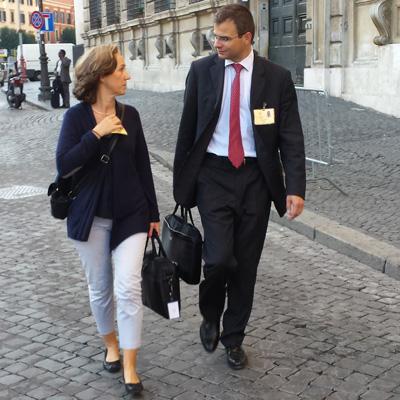 Olivier et Xristilla Roussy © Communauté de l'Emmanuel 2014