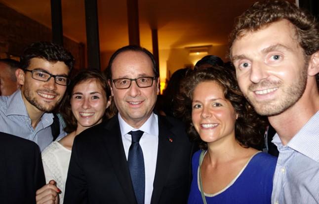 François Hollande - Fidesco