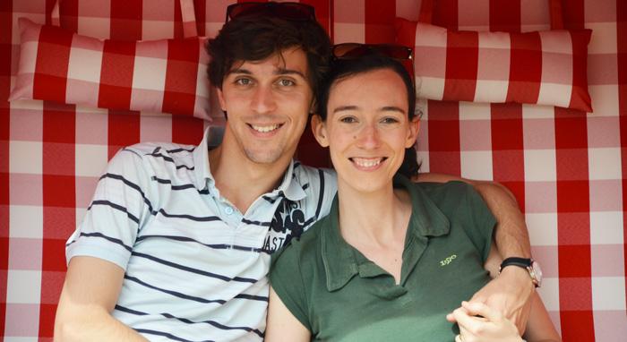 Claire et Lukas Kiral - Communauté de l'Emmanuel 2015