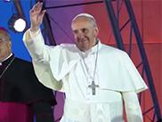 Le pape François aux volontaires des JMJ de Rio, juillet 2013