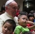 A Manille avec le pape François