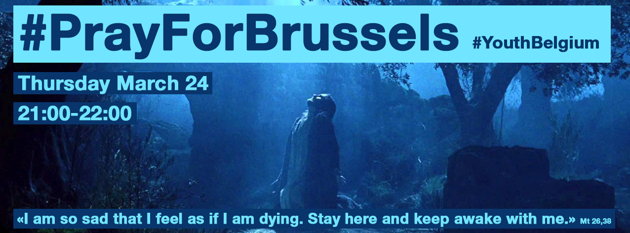 PrayForBrussels-1hour-24march2016