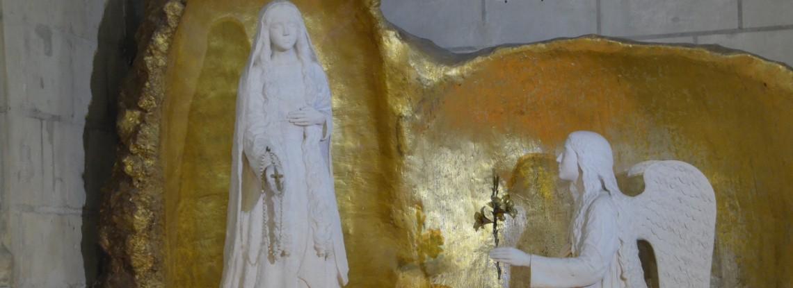 A L'Île-Bouchard, découvrez Notre-Dame de la Prière