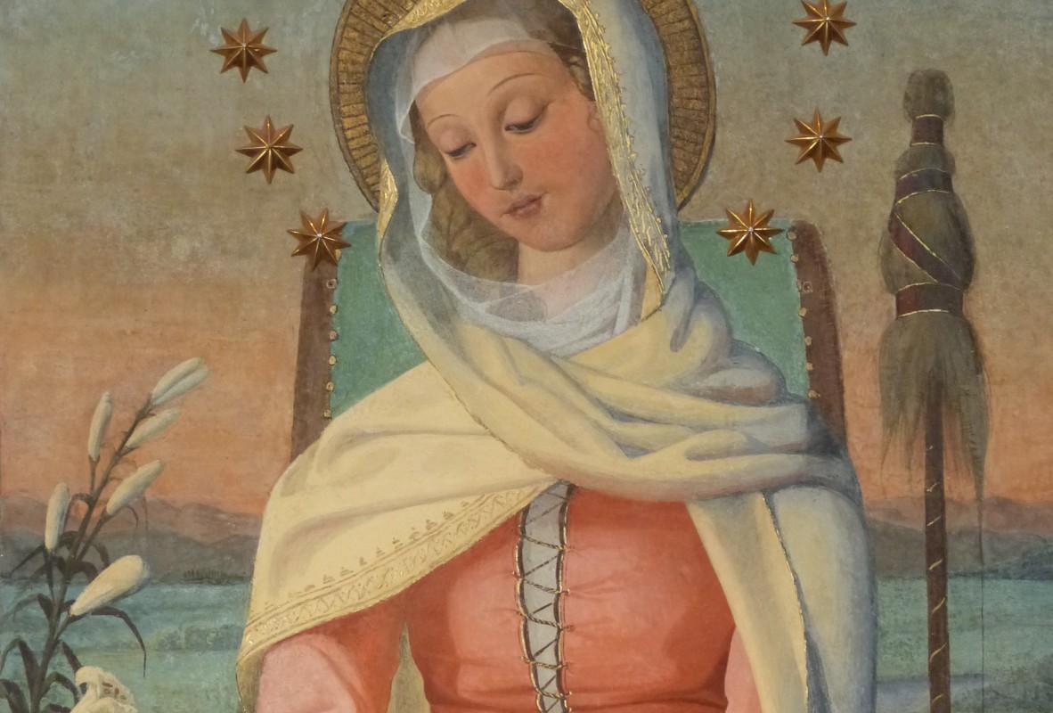 Mater Admirabilis, la vierge à 15 ans.  © GSP / Communauté de l'Emmanuel