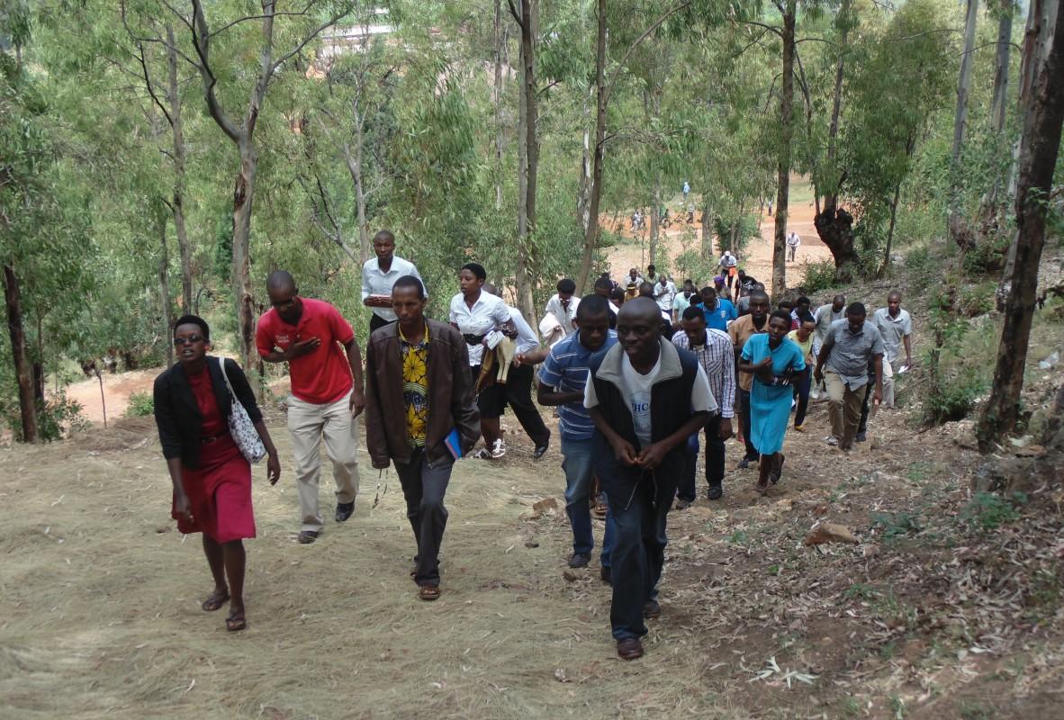 Pélerinage jubilaire à Mugera pour les jeunes du Burundi © Communauté de l'Emmanuel