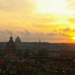 Vue de Rome depuis la Trinité des Monts © Communauté de l'Emmanuel