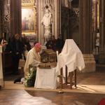 Accueil des reliques et messe d'ouverture de la Mercy Mission 2