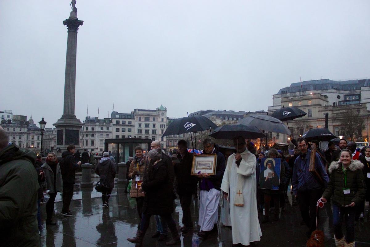 Soho and Trafalgar Square, reliques