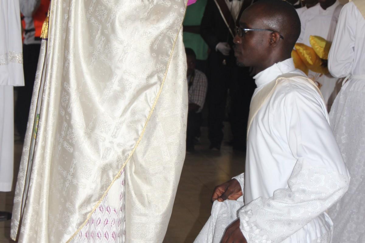 Ordination du Père Olivier Valère Ajavon