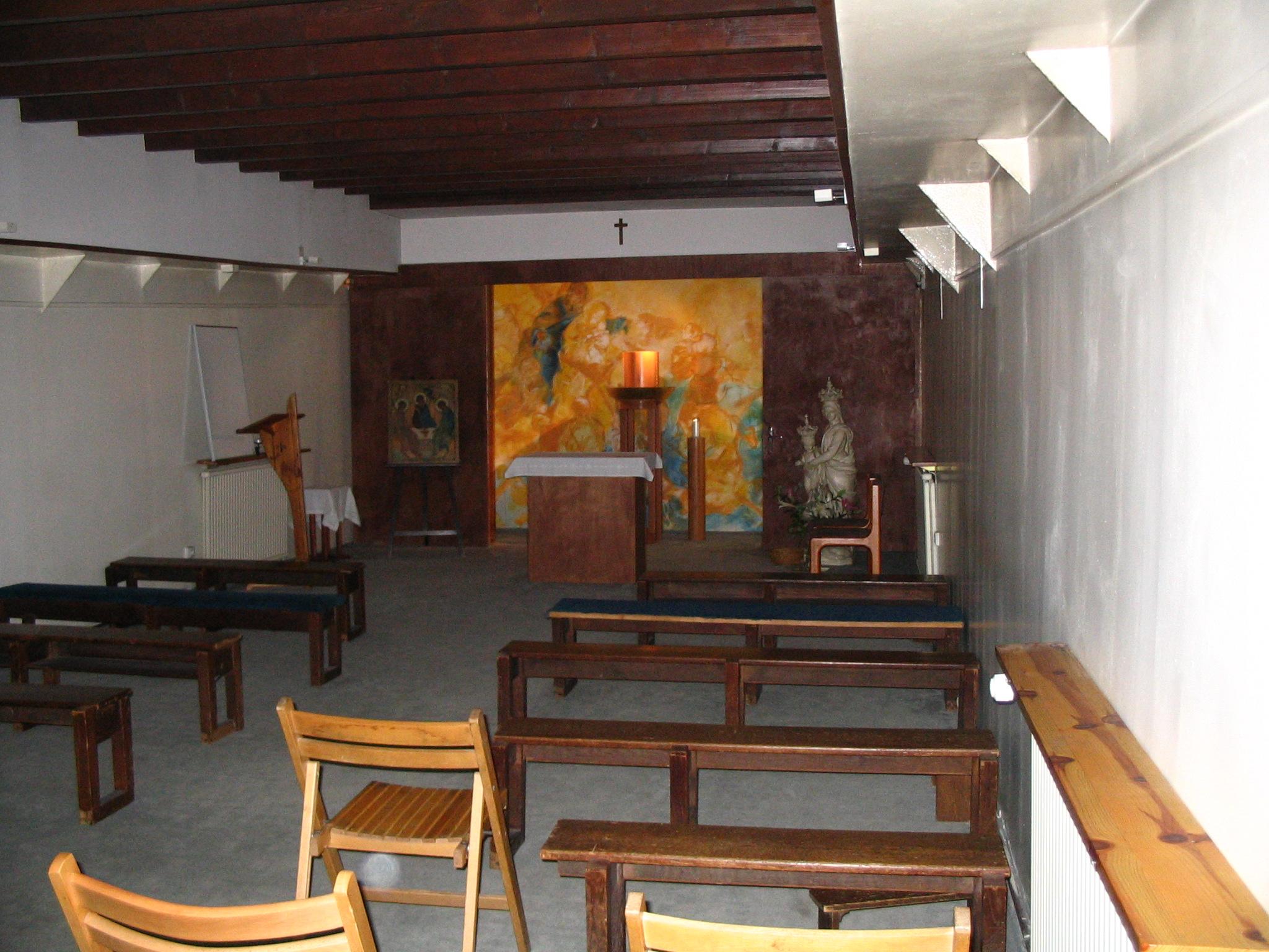 Grande chapelle de la Péniche – 2004