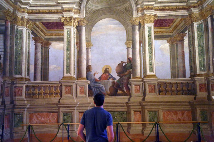Peinture de Cana dans le refectoire