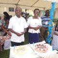Frat CI_Marie-Rose et Willy gâteau
