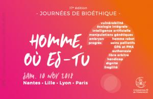 Journées de bioéthique – Lyon