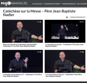 Playlist Nadler catecheses