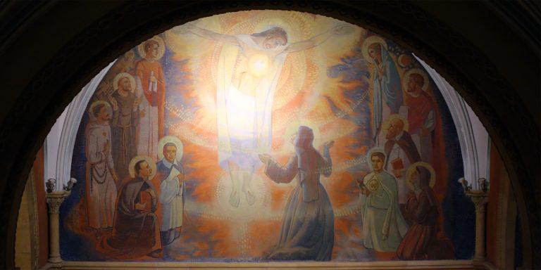 Jesus Visitation Paray