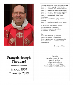 Signets Francois Thouvard