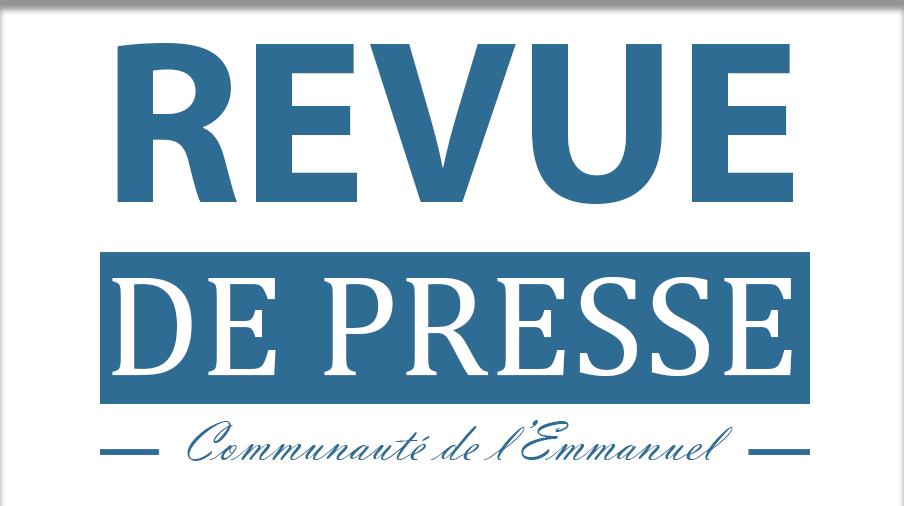 Revue de presse du 25 septembre 2019
