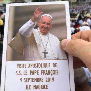 Visite Pape Maurice
