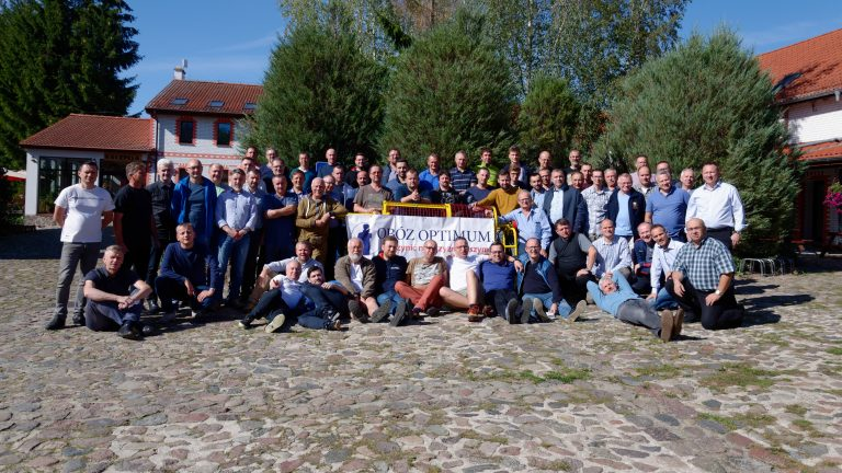 Participants camp Optimum 2019 Pologne