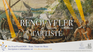 Vignette Retraite artistes 2020 Rome 1