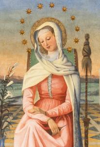 Vierge Marie Trinite des Monts Rome