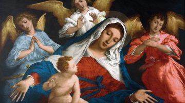 marie jesus peinture