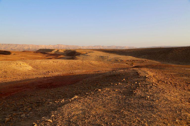 terre sainte 2020 desert