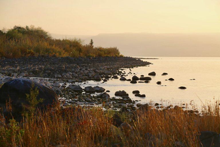 terre sainte 2020 lac rivage