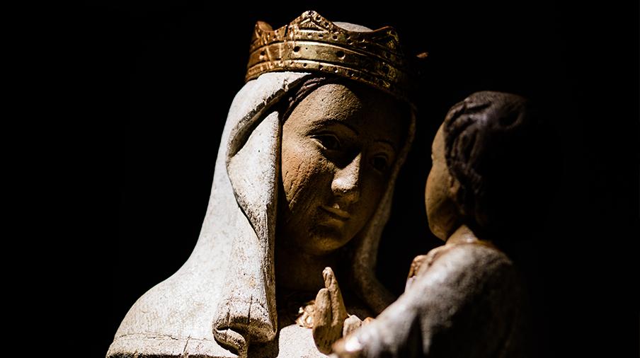 Vignette prions la Vierge mourants