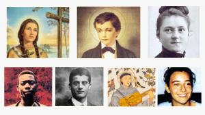 Vignette jeunes saints IEV