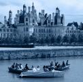 En juillet, le Rocher a pris ses quartiers d'été à Chambord