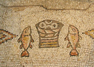 Mosaique tabgha iev