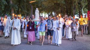 Vignette piete populaire procession IEV348
