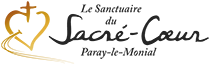logo sanctuaire paray Sacre Coeur noir