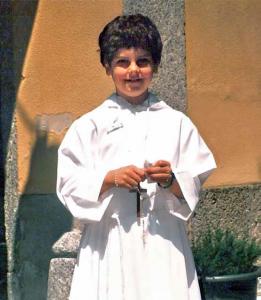 Carlo Acutis lors de sa première communion