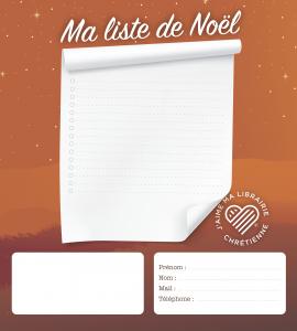 Liste de Noel catalogue jmlc