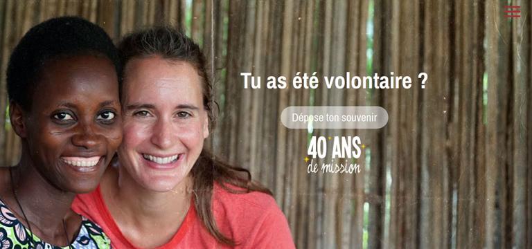 Souvenir Volontaire Fidesco 40 ans