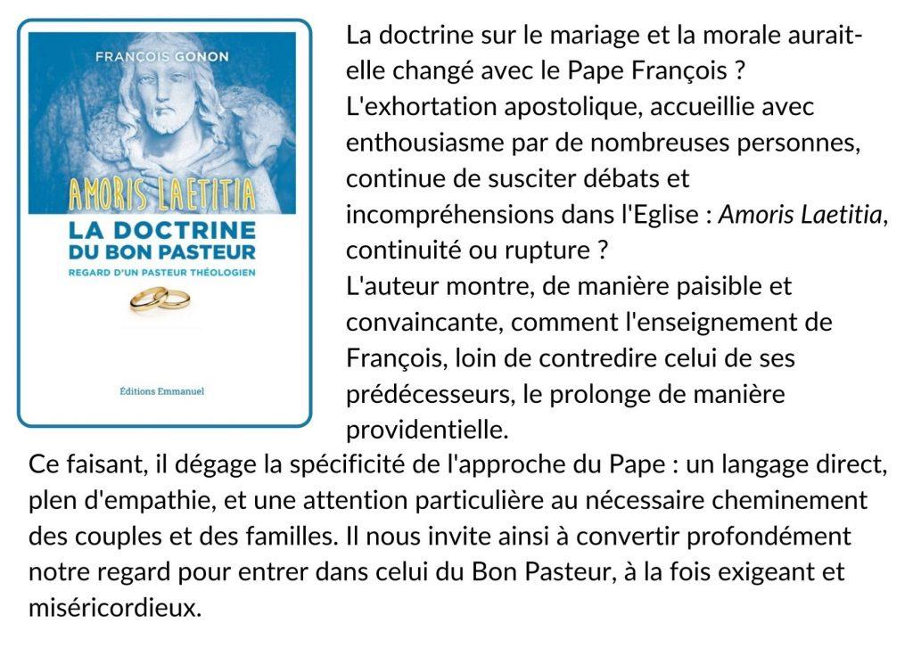 La doctrine du Bon Pasteur et resume