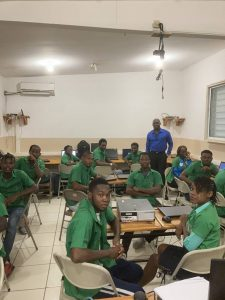 eleves en classe haiti