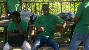 eleves haiti cour de recre 1
