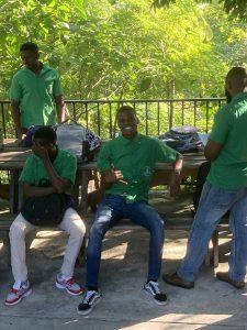 eleves haiti cour de recre