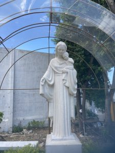 statue st joseph haiti