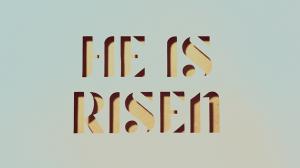 Vignette He is risen