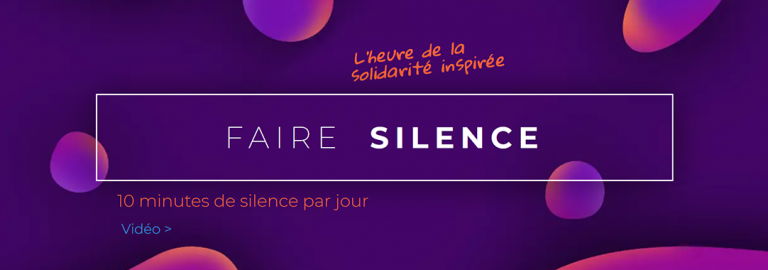 Bandeau NL faire silence