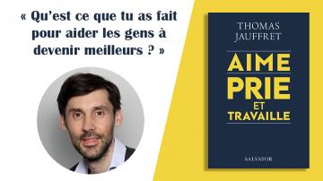 Vignette Jauffret aime prie travaille livre