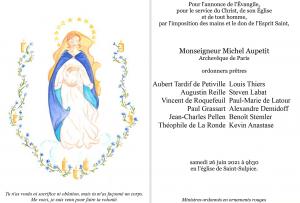 FP ordination Aubert de Petiville complet