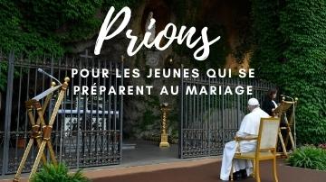 Intention de priere Pape pour les jeunes